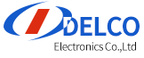 DELCO ELECTRONICS CO.LTD Logo